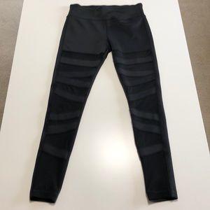 Pants - Black Mesh full length Leggings